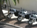 delivery of three F650 GS to our clients