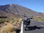 with R 1200 GS Adventure through Teide national park
