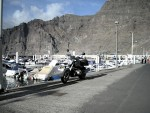 by the harbour of Los Gigantes