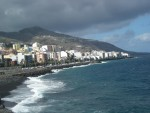 beach and harbour of Santa Cruz de la Palma